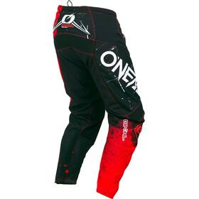 ONeal Element Cykelbyxor Shred röd/svart